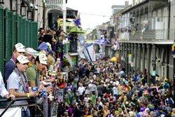 Mardi Gras, Nouvelle-Orléans