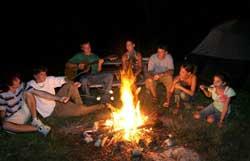Camping KOA Key West - Feux de camp
