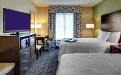 Hampton Inn Bâton Rouge - Chambre