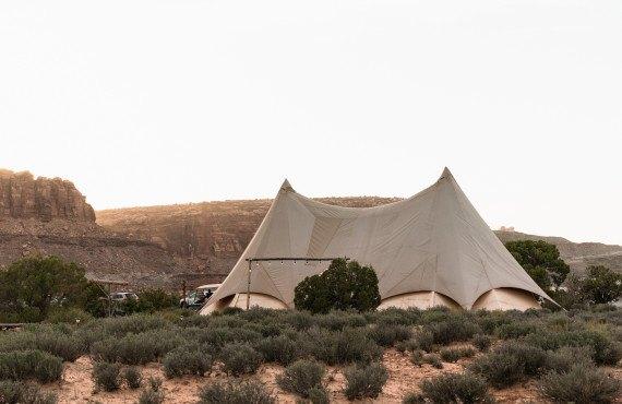Tente commune
