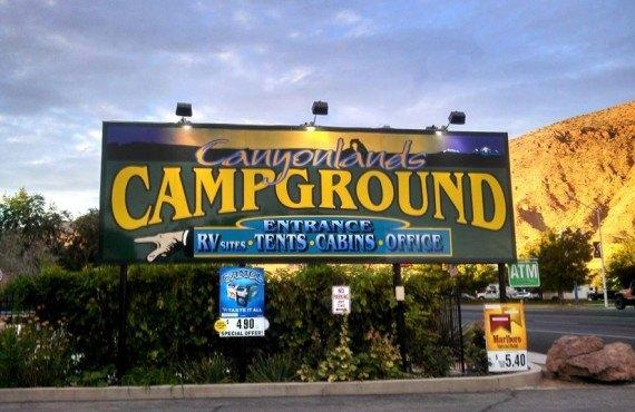 Camping Canyonlands