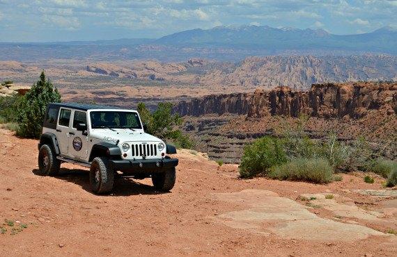 Excursion en 4x4 à Canyonlands