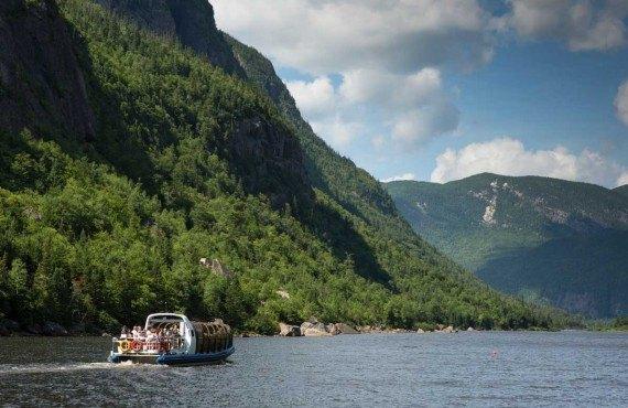 Croisière des Hautes-Gorges - St-Aimé-des-Lacs, QC