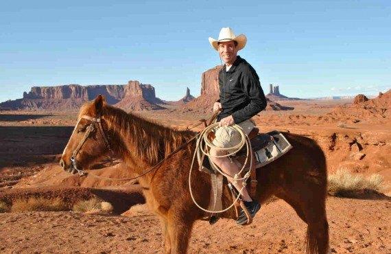 Équitation avec un guide Navajo