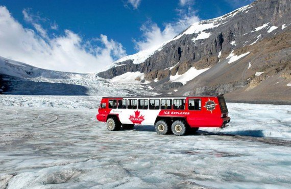 Excursion au glacier Athabasca - Jasper, AB