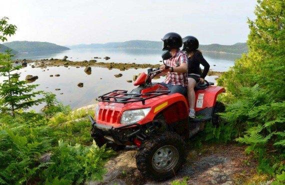 Excursion en Quad - Fjord du Saguenay, Qc