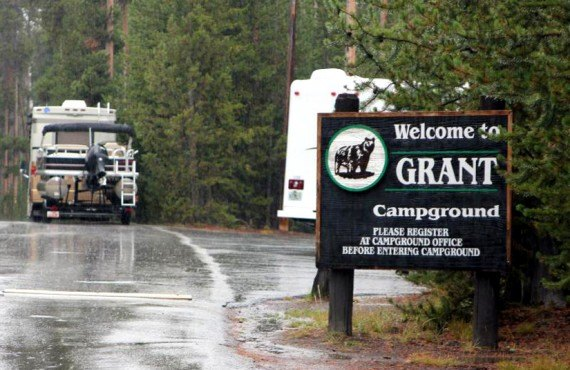 Grant Village Campground, Yellowstone