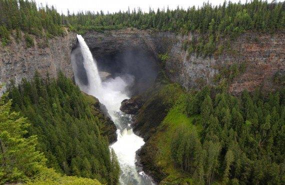 Helckmen Falls, Parc Wells Gray