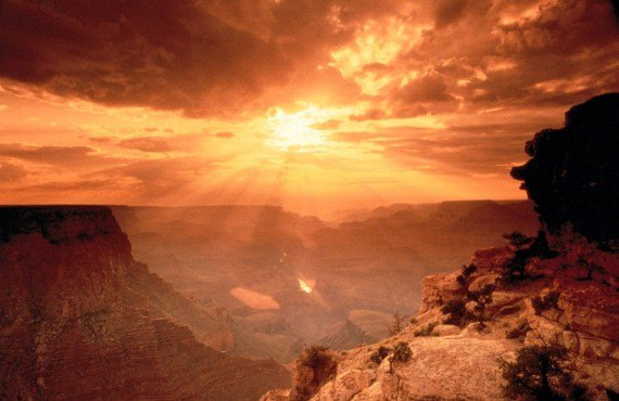 Grand Canyon au coucher du soleil