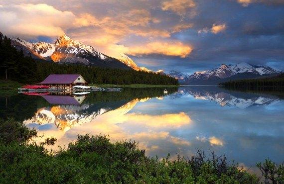 Lac Maligne, Parc de Jasper