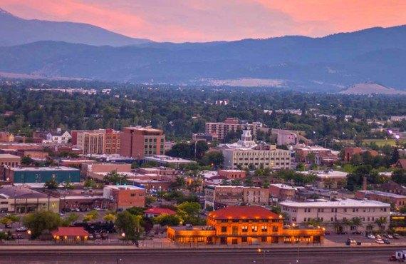 Centre-vile de Missoula, Montana