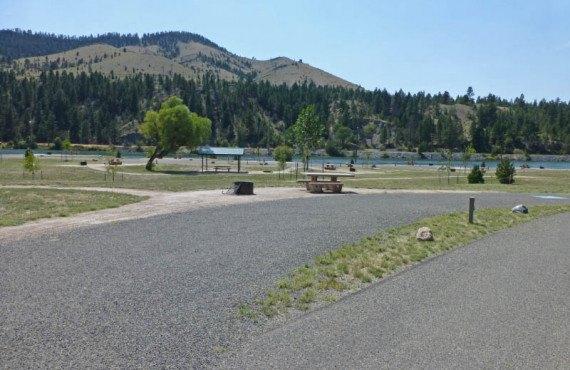 Riverside Campground, Helena, MT