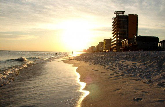 Plage - Panama City Beach, Floride
