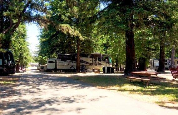 SFO-Petaluma KOA - Emplacements