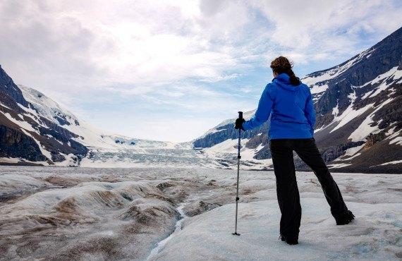 Randonnée sur le Glacier Athabasca