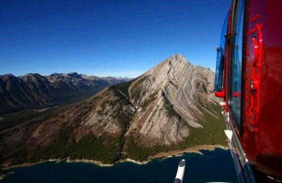 Survol des rocheuses en helicoptere