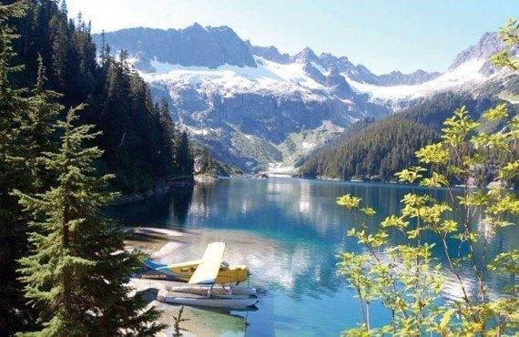 Survol en hydravion - Whistler, BC