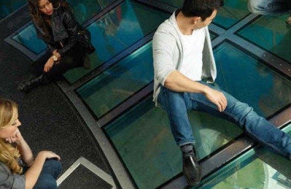 Le plancher de verre
