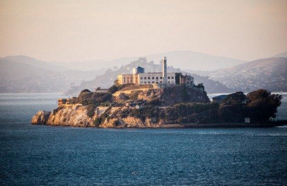 L'île d'Alcatraz, San Francisco, CA