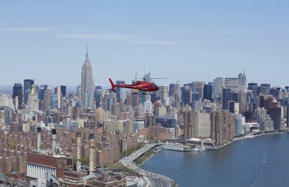 Survol en Hélicoptère, New York
