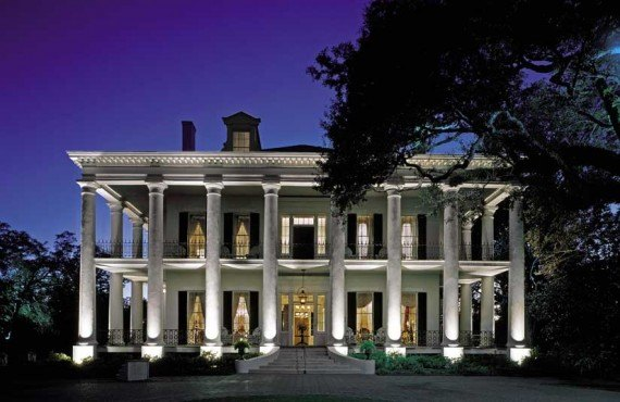 Dunleith-Historic-Inn-Louisianne-Nuit