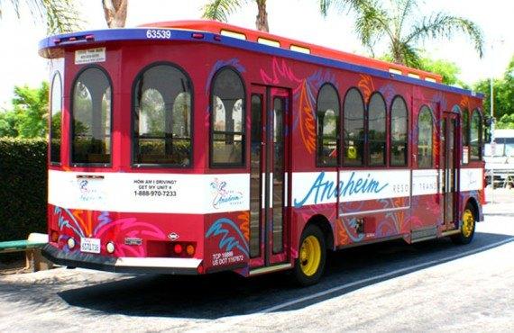 Anaheim Resort RV Park - Transport