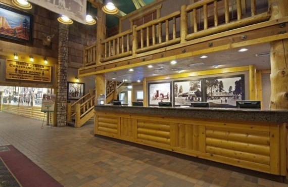 Best Western Ruby's Inn - Réception