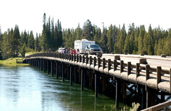 Camping Fishing Bridge RV Park