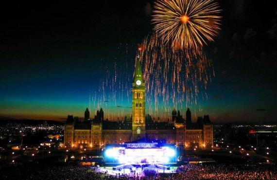 Célébration de la fête du Canada, 1er juillet