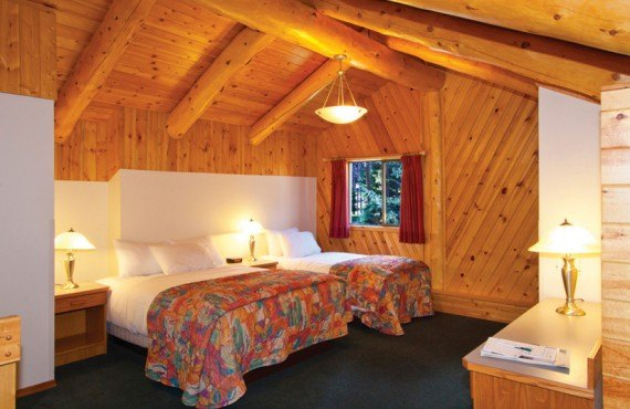 Chalets Beckers - Chambre 2 lits