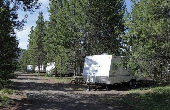 Camping Colter Bay RV Park