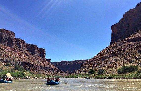 Rafting, Moab, UT