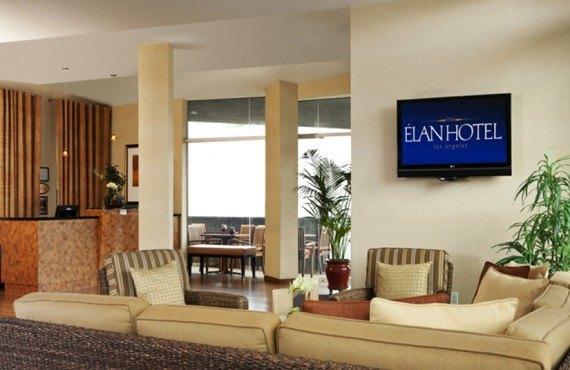Elan Hotel - Lobby