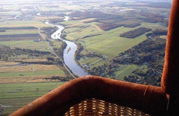 Envolée en montgolfière - Québec, QC