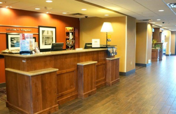 Hampton Inn Kingman - Lobby