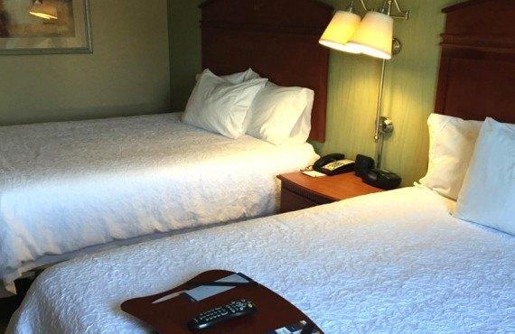 Hampton Inn New Haven - Chambre 2 lits