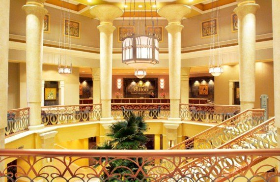 Hilton Grand Vacations Suites - Lobby