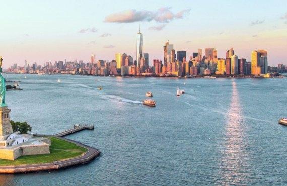 Vue sur New York City