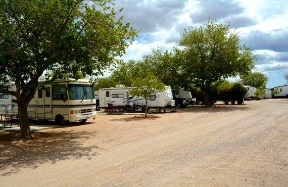 Kingman Koa, emplacements pour camping-car