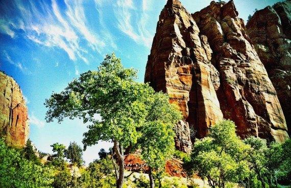 Les Narows du parc Zion