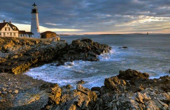 Les phares du Maine