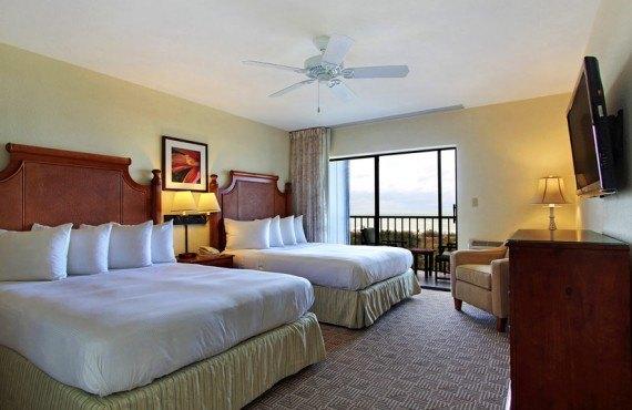 Sanibel Inn - Chambre 2 lits