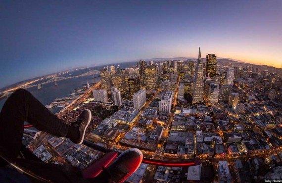 Survol en hélicoptère, San Francisco, CA