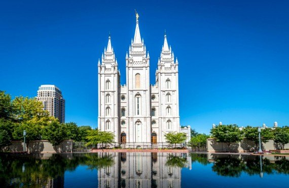 Le Temple Square de Salt Lake City