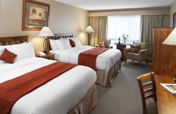 Chambre 2 lits du Tonquin Inn