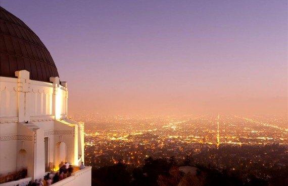 Vue de Los Angeles à partir du Griffith Observatory
