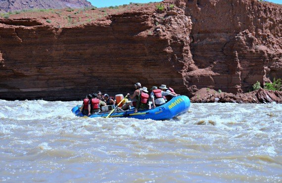 Descente en rafting sur le fleuve Colorado, Moab, UT
