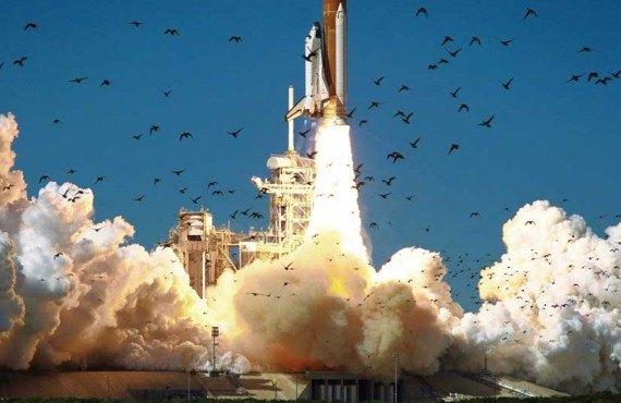 Kennedy Space Center Decollage