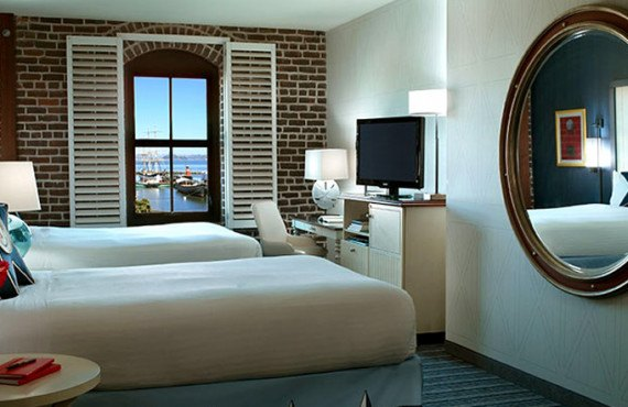Argonaut Hotel - Chambre 2 lits Queen