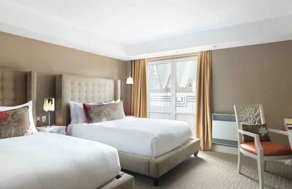 Chambre confort 2 lits